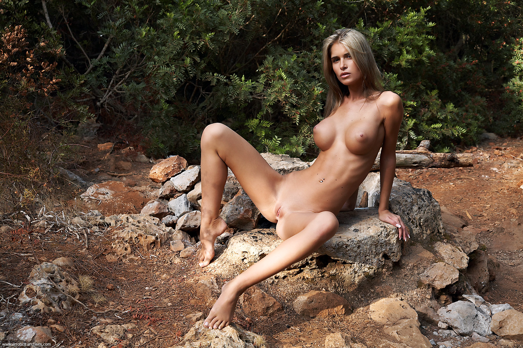 erotic nude women woods